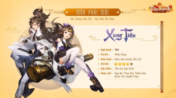 VLTK Mobile: Hỏa lực thần công của Xung Tiêu mạnh đến mức nào?