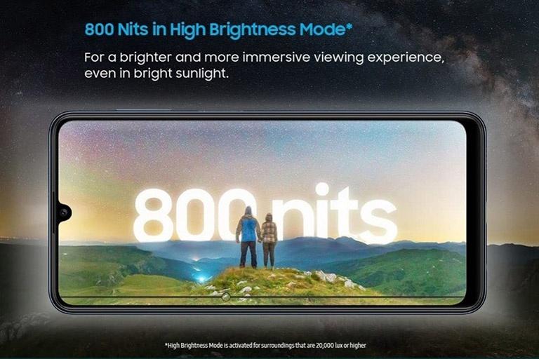 Galaxy M32 – điện thoại pin khủng cho game thủ