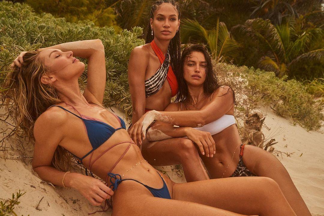 Bộ ba người mẫu nội y thả dáng tuyệt mỹ với áo tắm hè cực chất - ảnh 1
