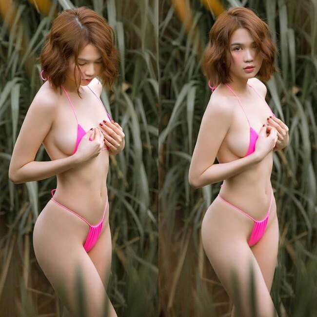 """""""Nữ hoàng nội y"""" đăng quang Hoa hậu có sexy hơn hot girl ăn chơi nhất Sài thành?"""
