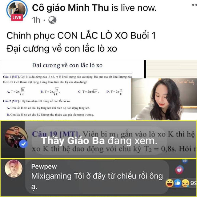"""Bị bắt quả tang """"nằm vùng"""" trong livestream của cô giáo Vật lý, PewPew chính thức lên tiếng """"kêu oan"""""""