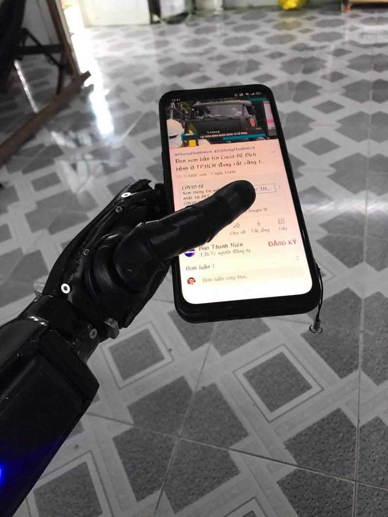 Những cánh tay không bao giờ đáng mất, sản phẩm tay 3D của VULCAN