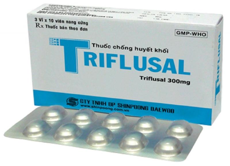 Thuốc Triflusal dạng viên nén