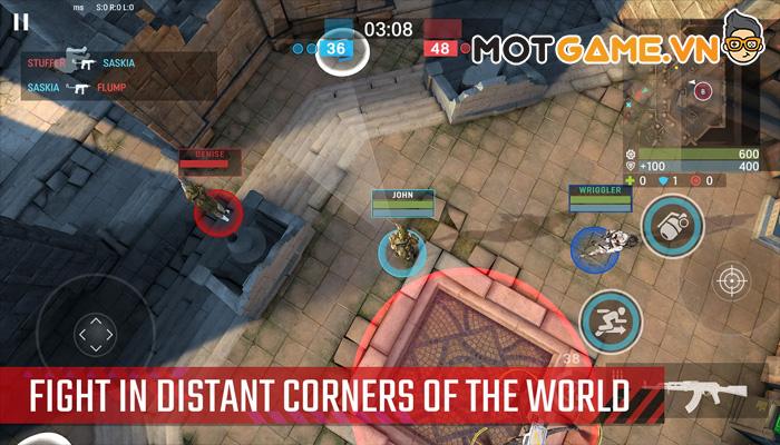 ACT: Antiterror Combat Teams game bắn súng sinh tồn góc nhìn từ trên xuống độc lạ!