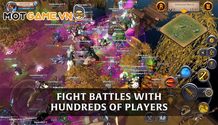 Albion Online siêu phẩm MMORPG trên PC nay đã có mặt trên di động!