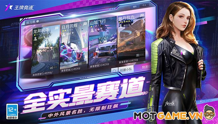 Ace: Racer trò chơi đua xe đình đám hàng đầu của NetEase chính thức ra mắt!