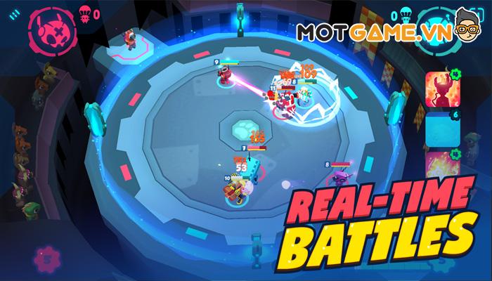 Botworld Adventure chiến trường của những cổ máy ngộ nghĩnh!