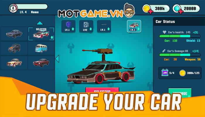 Cars! Boom Boom! game đua xe bắn súng phong cách Death Race!