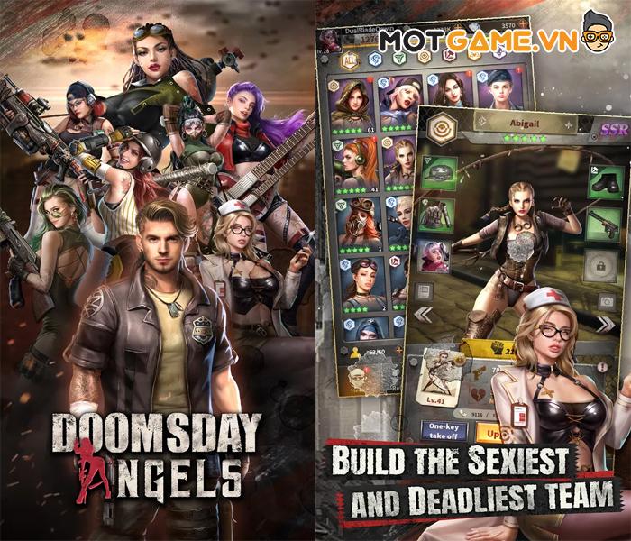 Doomsday Angels game Idle có tạo hình các nữ tướng vô cùng Sexy!