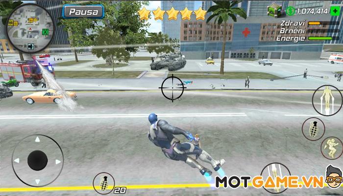 Grand Mobile Hero: Gangster Crime Legend tựa game nhập vai siêu anh hùng phong cách Gangster!