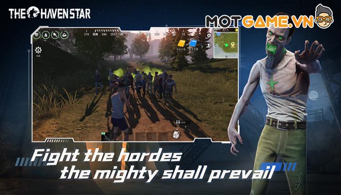 The Haven Star game sinh tồn mô phỏng thực tế đề tài Zombie