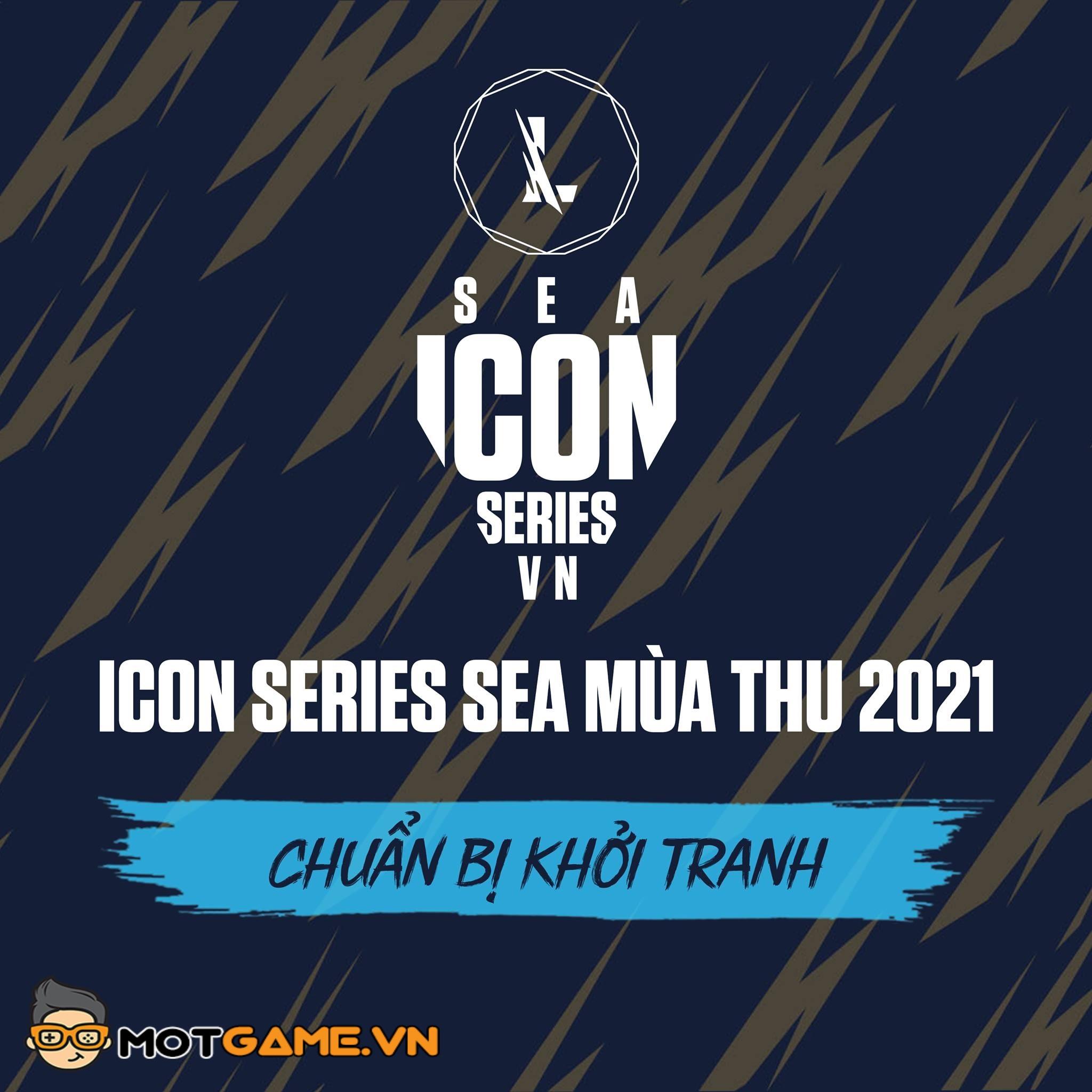Icon Series SEA mùa thu 2021 – Lịch thi đấu mới nhất