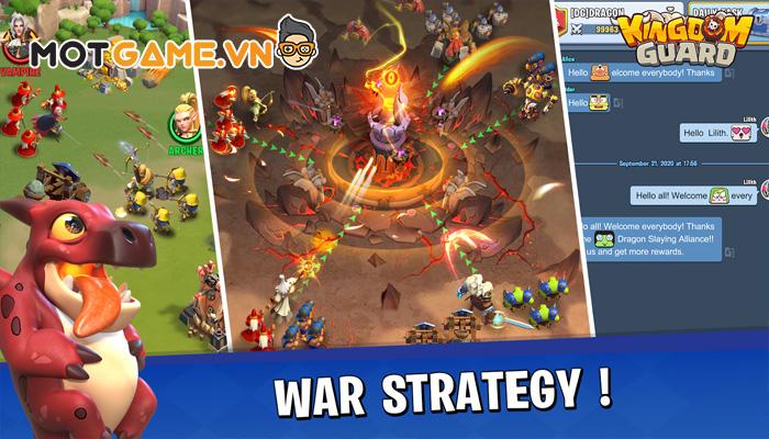 Kingdom Guard game thủ tháp độc đáo với một màn chơi hơn 100 đợt quái khác nhau!