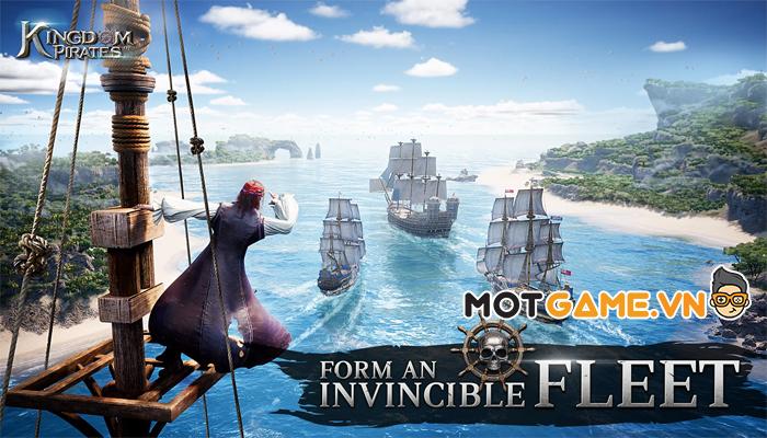 Garena phát hành game mới Kingdom Of Pirates