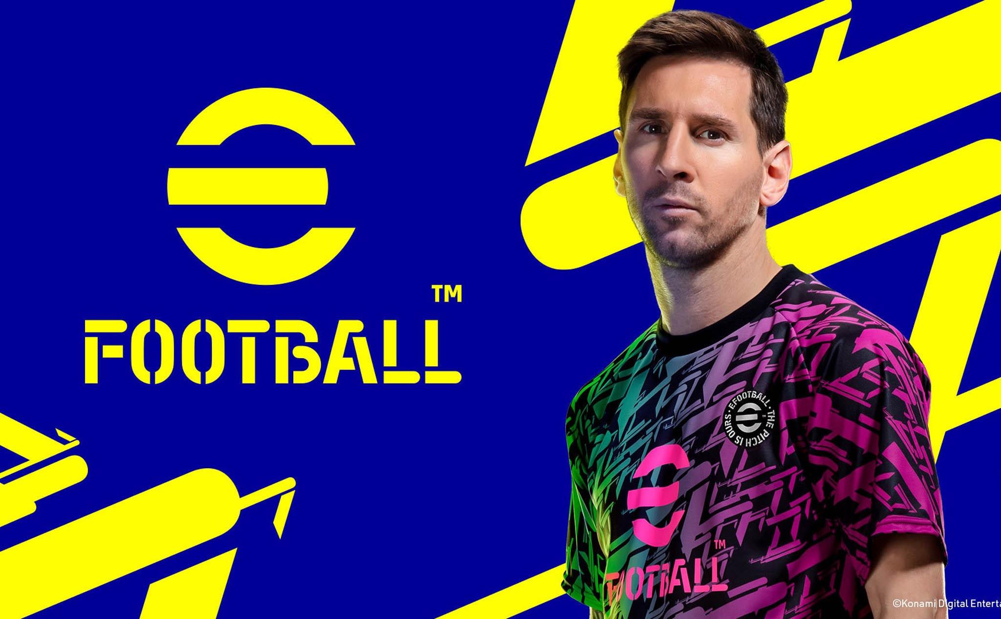 PES 2022 đổi tên thành eFootball, được phát hành miễn phí