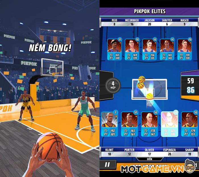 Hành động, nhập vai, mô phỏng, thẻ bài tất cả đều có trong Rival Stars Basketball!