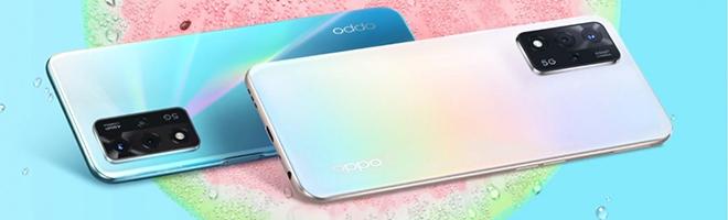 """Ra mắt Oppo A93s 5G chơi game """"mượt"""", pin 5000 mAh, giá chỉ 7,1 triệu"""