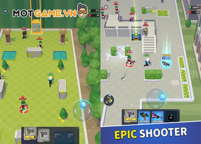 Trải nghiệm lối chơi thay đổi vũ khí linh hoạt cùng tựa game bắn súng hành động mới