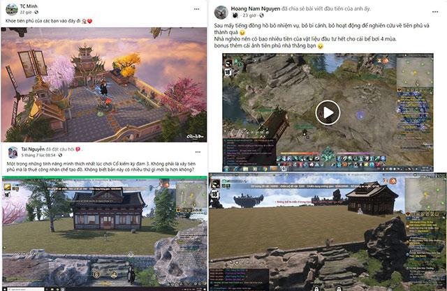 Xây dựng Tiên Phủ là thứ đang làm game thủ Cổ Kiếm Kỳ Đàm Online phát cuồng