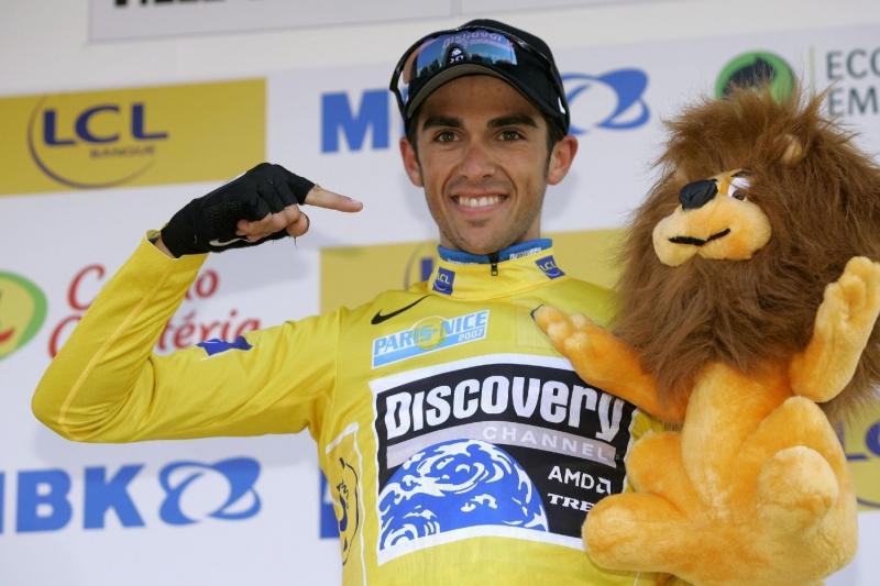 Alberto Contador là tay đua nổi tiếng người Tây Ban Nha