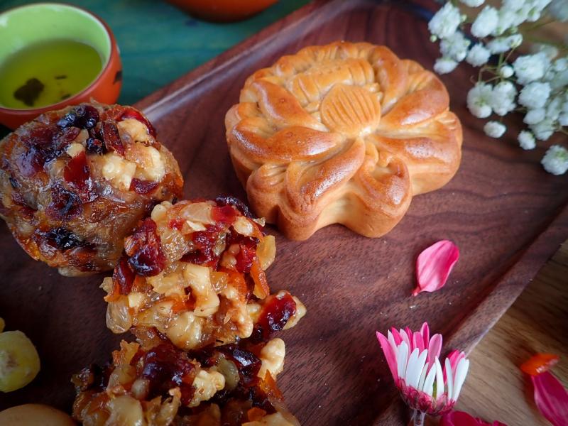 Bánh trung thu handmade nhà Mẹ Sữa