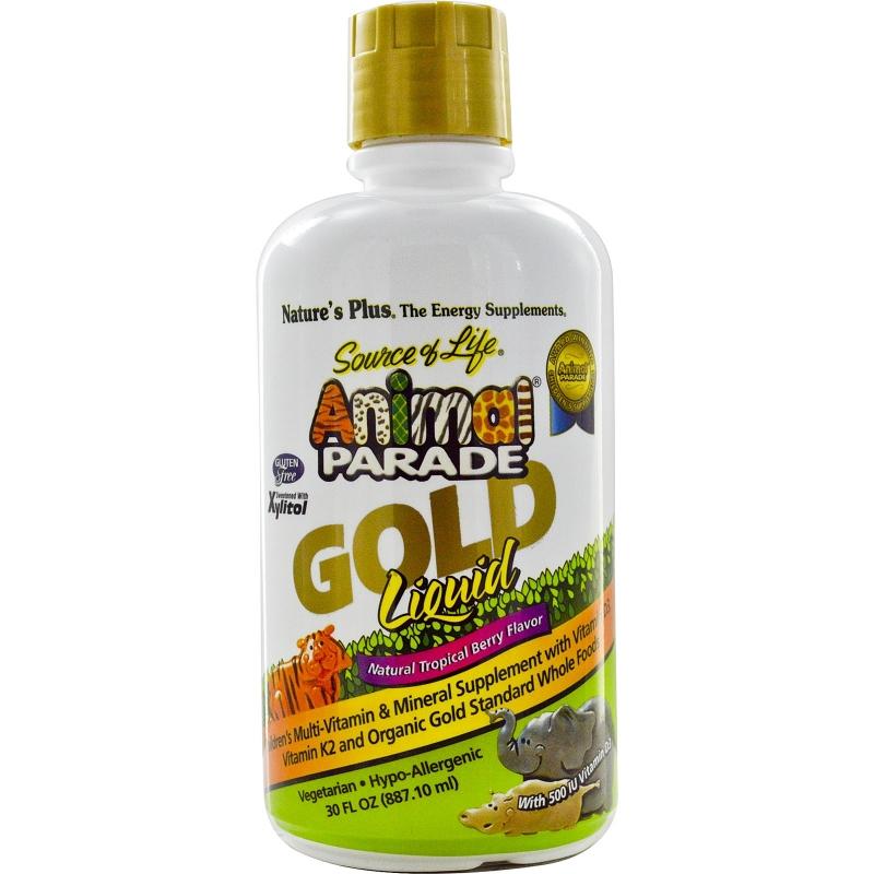 Animal Parade GOLD Multivitamin Children's Liquid