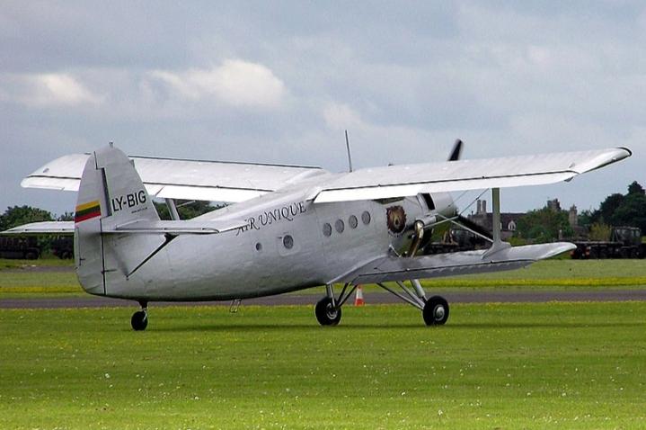 Thương hiệu máy bay Antonov