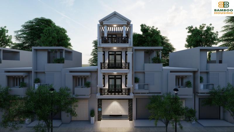 Bamboo Housing