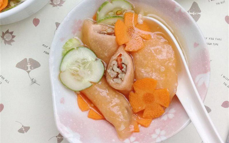 Bánh bột lọc cà rốt