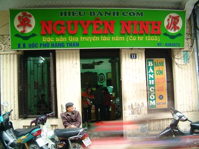 Bánh Cốm Nguyên Ninh Hàng Than