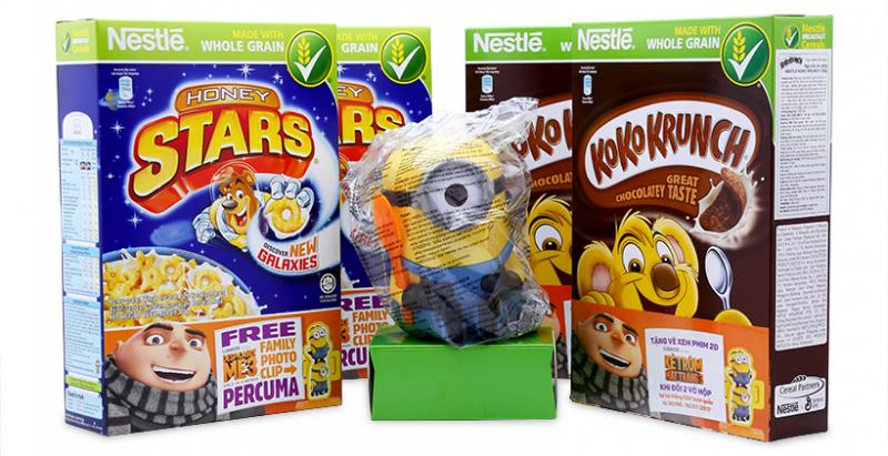 Bánh ngũ cốc ăn sáng Nestlé