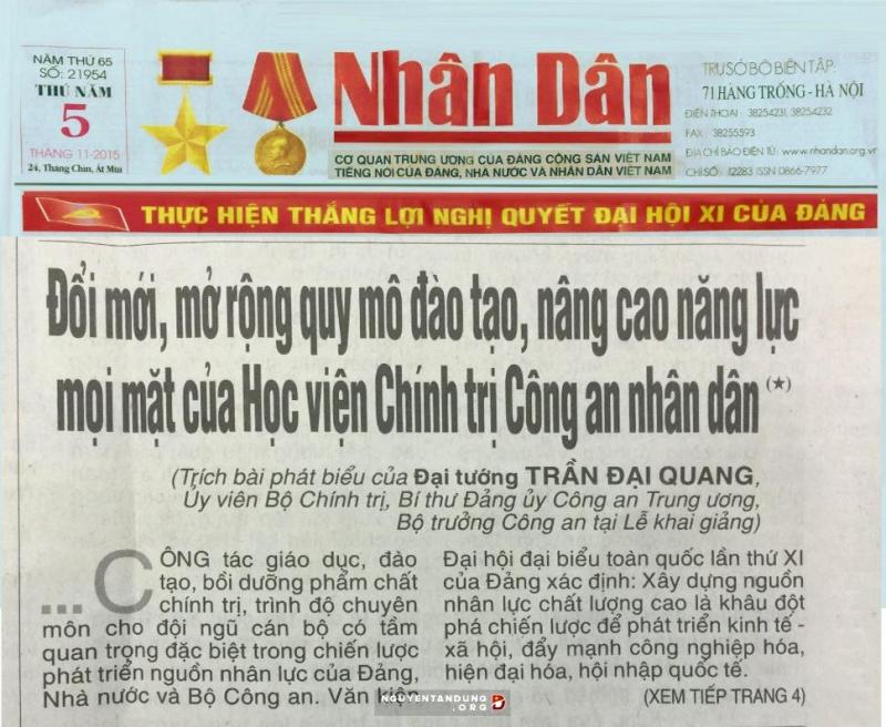Top 8 Tòa soạn báo lớn nhất Việt Nam