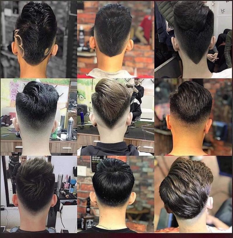 Barber Shop Trung Châu Âu