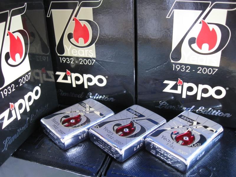 Bật lửa 75th Anniversary Zippo