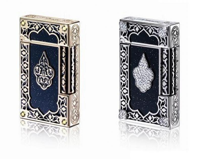 Bật lửa S.T Dupont Ligne 2 Lighter 1001 Nights Diamonds Limited Edition