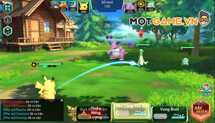 Trải nghiệm Bảo Bối Huyền Thoại GOSU siêu phẩm thẻ tướng Pokémon vừa ra mắt