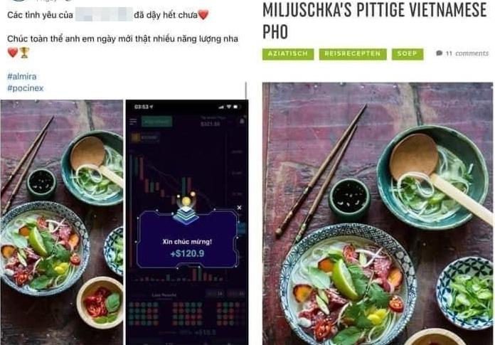 Nhóm hot girl tài chính dùng ảnh trên mạng để sống ảo