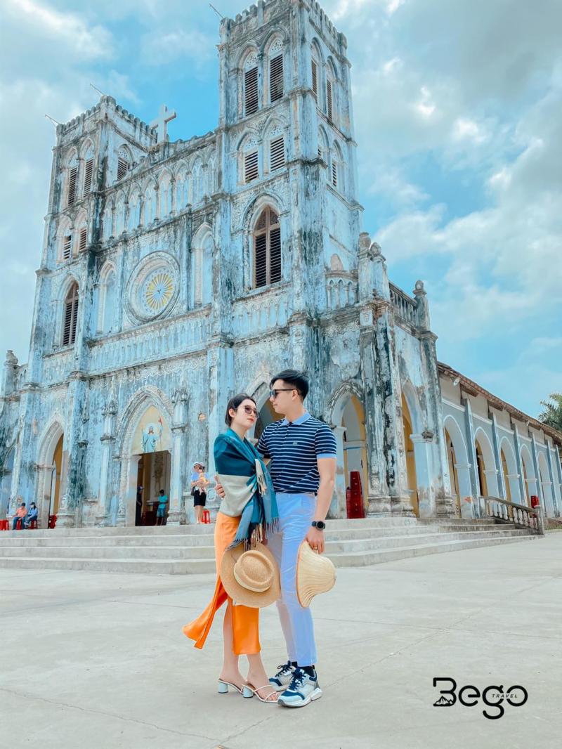Điểm đến trong tour của Bego Travel