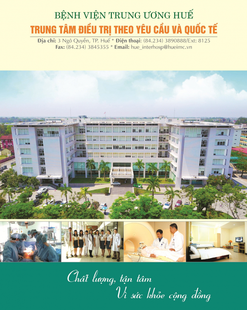 Bệnh viện Quốc tế Trung ương Huế - Khoa phụ sản
