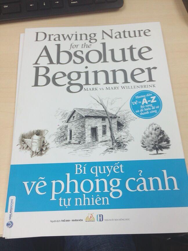 Bí Quyết Vẽ Phong Cảnh Tự Nhiên - Drawing Nature For The Absolute Beginner