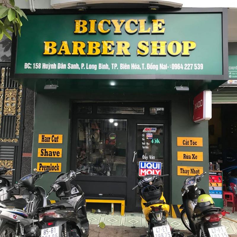 Bicycle Barber shop
