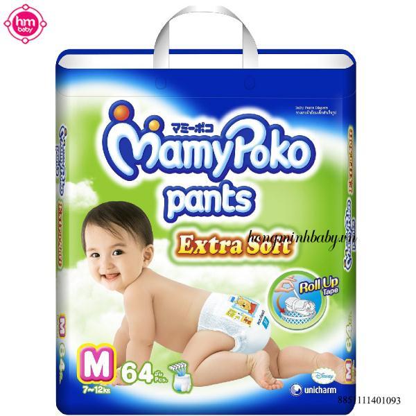 Nhãn hiệu Mamy poko thuộc tập đoàn Unicharm Nhật Bản cũng là lựa chọn đáng tin cậy để chống hăm cho trẻ nhỏ.