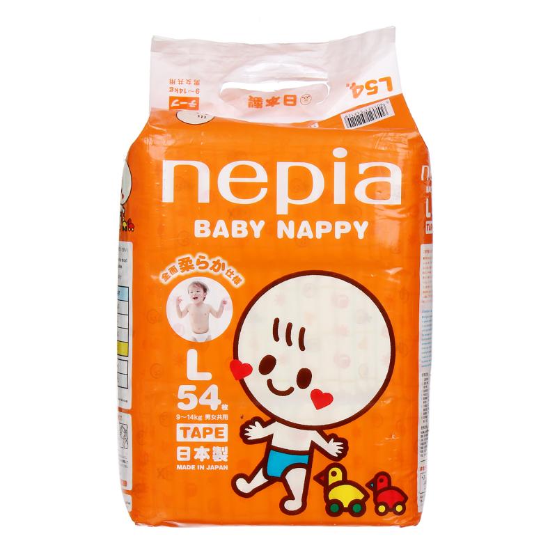 Bỉm Nepia sử dụng chất liệu vải bông không dệt mềm mại