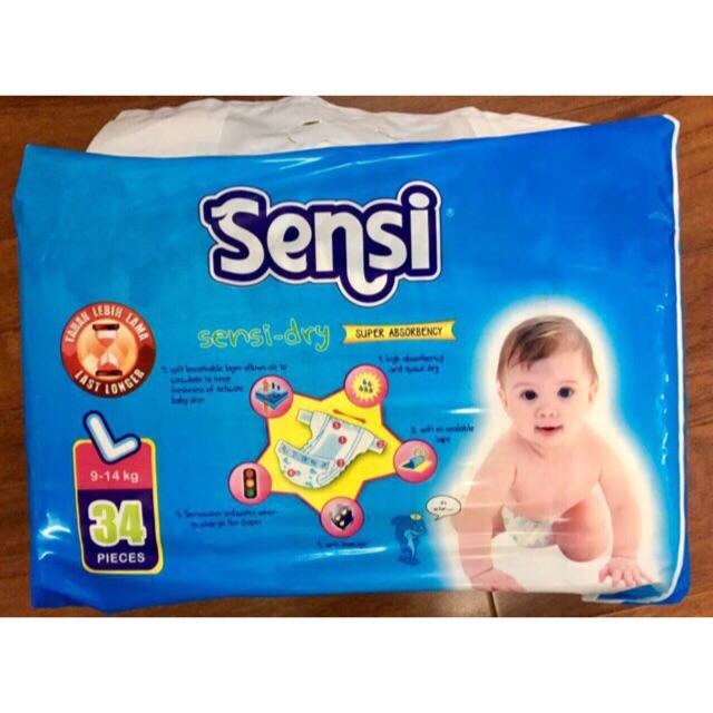 Bỉm Sensi đầy đủ các loại cho các bé từ 3kg – 25kg