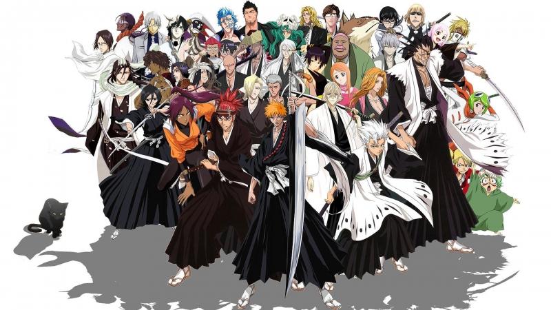 Các nhân vật trong bộ truyện