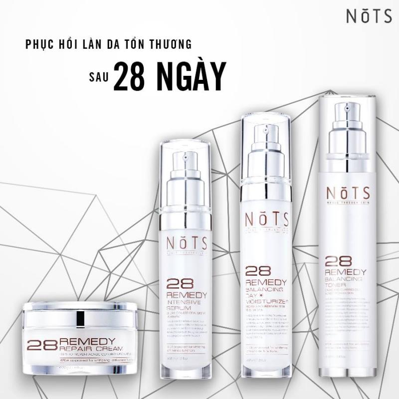 Bộ sản phẩm 28 REMEDY của thương hiệu NoTS