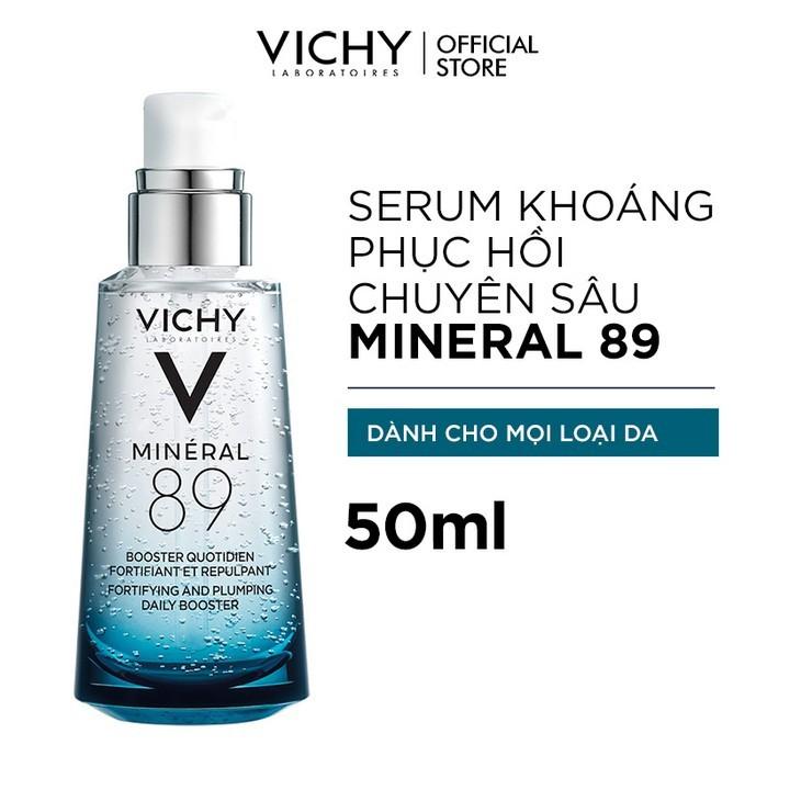 Bộ sản phẩm VICHY Beauty Recharge Box giúp phục hồi chuyên sâu, tái tạo và bảo vệ da tối ưu