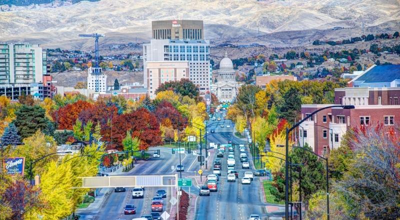 Boise vào mùa thu