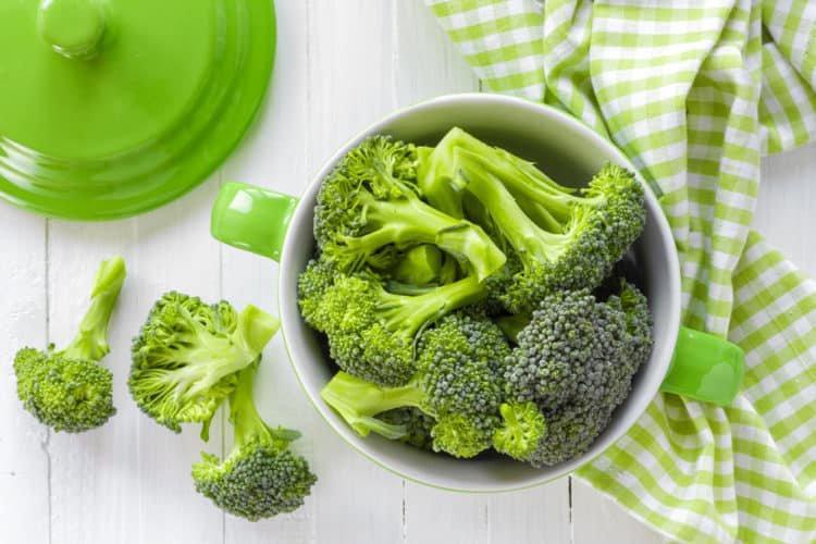 Bông cải xanh giúp chống lại nếp nhăn