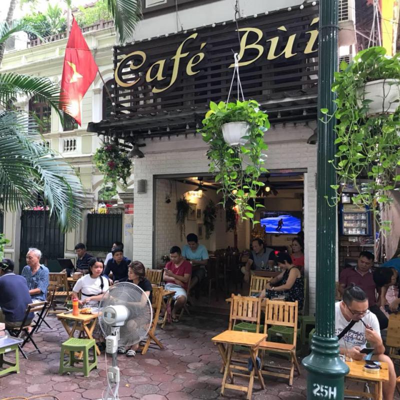 Top 4 Quán cà phê đẹp nhất trên đường Phan Đình Phùng, quận Ba Đình, Hà Nội